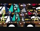 【ジャンル混合MMD】ドリームかんぱにぃでマジLOVE1000%