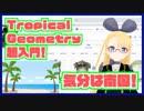 【気分は南国♪】 Tropical Geometry の気持ちを紹介するよ!【Tropical x Mirror = ???】 #VRアカデミア #012