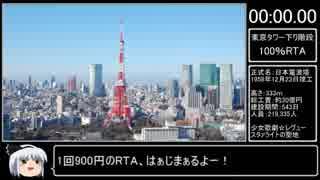 東京タワー100%RTA  [Tokyo tower 100% Speedrun]