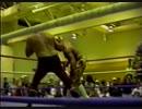 【WWA】テディ・ハートvsエディ・ギルバード:Texas Death Match【92.11.14】