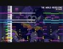 【東方風アレンジ】THE WORLD REVOLVING | (ジェビル戦のテーマ) | DELTARUNE | SD-90 MIDI アレンジ