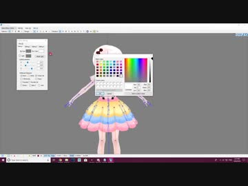 How To Assemble an MMD Model [Part 2/3]: PMX Editor Interface!