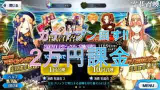 【FGOガチャ】なけなしの諭吉2万円分突っ込んでブン回す!!!