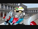 【MMDグリッドマン】HTRK.GRIDMAN-血小板ちゃんごっこ-【はたらく細胞】