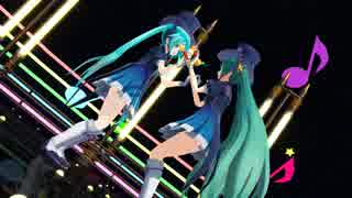 【MMD】 Magical Mirai Miku 2人で ♪ からくりピエロ ♪