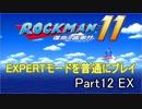 ロックマン11 EXPERTモード 普通にプレイ Part12 EX