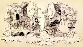 【チョコミントミルクティー(透音・辺音ライア♀)】変梃の市~へんてこのまち~【UTAUカバー】