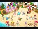 【FKG】 夏のビーチでスイーツ祭な庭園