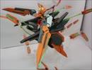 第88位:ガンダムハルート最終決戦仕様+GNシザービット×20を作ってみた