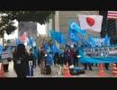 2018年11月13日「東トルキスタン建国記念日 平和デモ」の様子