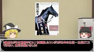 ゆっくり日本競馬史part21【黒の帝王と古豪復活編】
