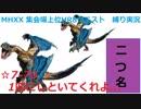 【MHXX/NS】上位になったからこそ集会場縛りプレイ【S7+-70】VS荒鉤爪ティガレックス×2