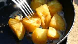 サツマイモ、バターで焼いてみた!【キッチン・ガーデン #14】
