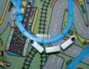 【電車でD】プラレールで複線ドリフトを再現!(あくまで再現)