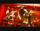 【刀艦乱舞】三日月宗近と翔鶴で『番凩』(つがゐこがらし)【MMD】
