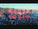 【北朝鮮歌謡】この山河の高い嶺、険しい道の上に(이 강산 높은 령 험한 길우에)