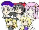 第62位:【上級者向け?】コーポさんの東方4コマ漫画【シュール系】 thumbnail