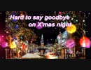 "Vocaloid5 Amy ""Hard to say goodbye on X'mas night"""