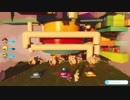 【World1-8】【マリオ+ラビッツキングダムバトル実況】初見プレイで完全攻略を目指す!
