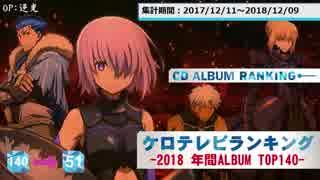 年間アニソンランキング 2018 ALBUM TOP140【ケロテレビ】140-51