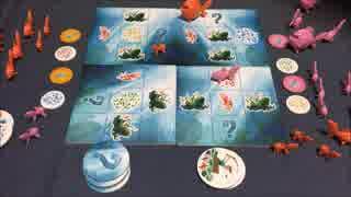 フクハナのボードゲーム対決:パックンギョ!