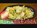 【岡山名物】ホルモンうどんを作って食べよう!