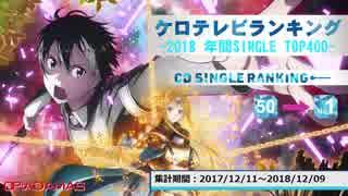 年間アニソンランキング 2018 SINGLE TOP400【ケロテレビ】50-1