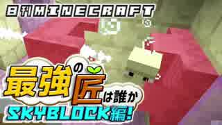 【日刊Minecraft】最強の匠は誰かスカイブロック編!絶望的センス4人衆がカオス実況!♯25【Skyblock3】