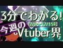 【12/9~12/15】3分でわかる!今週のVtuber界【佐藤ホームズの調査レポート】