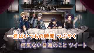 【ニコカラ】TIME LINE/s×c《HoneyWorks》(Off Vocal)