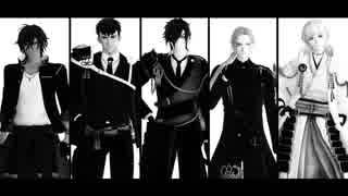 【MMD刀剣乱舞】Black Out