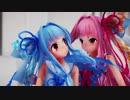 【MMD】琴葉姉妹で乱躁滅裂ガール【1080p】