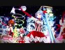 【MMD】ミク・テト・ハク・ルカ・メイコで Snow Song Show