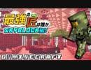 【日刊Minecraft】最強の匠は誰かスカイブロック編!絶望的センス4人衆がカオス実況!♯34【Skyblock3】