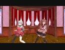 【アイドル部MMD】麻雀部の二人にルカルカ☆ナイトフィーバーを踊ってもらった