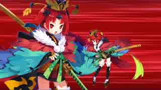 【FGO】紅閻魔 宝具演出+戦闘モーション+