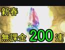 【グラブル】新春レジェフェス200連(2019年1月)【天井】