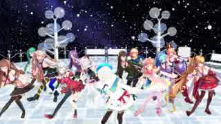 [MMD]シロちゃんとアイドル部で好き!雪!