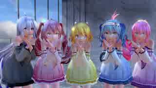 【MMD】気まぐれメルシィ Tda式改変Miku,Haku,Ruka,Rin,Teto【ikPolish】