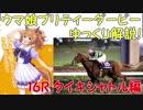 第23位:【第16R】 ウマ娘プリティーダービーに登場するキャラクターのモデルになった競走馬をゆっくり解説!タイキシャトル編