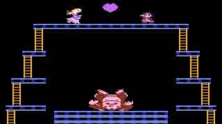 [TAS]Atari 7800 ドンキーコング in 01:10.54
