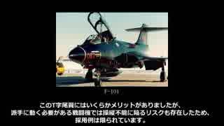【ゆっくり解説】3分でわかる戦闘機の尾翼