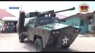 ガーナ製手作り感溢れる装甲車