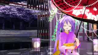 【MMD】ままま式あぴミクさんで紅葉愛唄【色変えモデル】