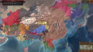 Europa Universalis IV 放置観戦(1444~18
