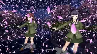 【MMD艦これ】『千本桜』大井・北上が踊る