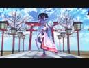 ヤマトイオリちゃんに千本桜を踊ってもらいました