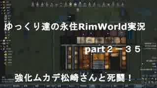 ゆっくり達の永住RimWorld実況part2-35