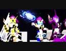 【MMD】リン、ミク、デフォ子で『チット・チャット・マーチ!』1080p