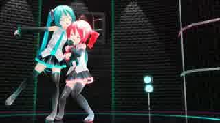 【MMD】あぴミクちゃんとあぴテトちゃんでイージーデンス【ちびあぴ】